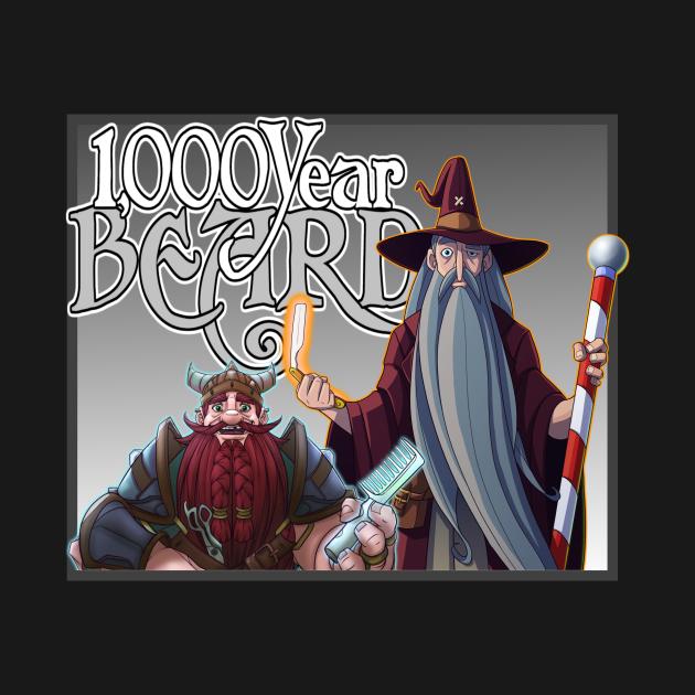 1000YB Dwarf and Wizard