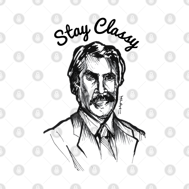 Ron Stay Classy Burgundy