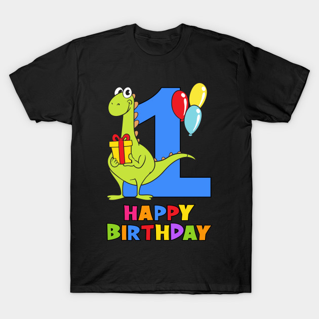 1st First Birthday Party 1 Year Old One T Shirt