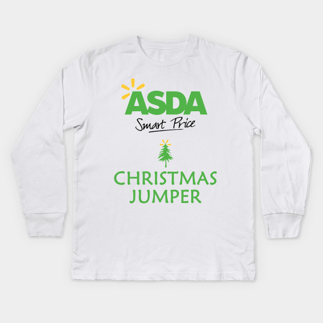 6cd28c890 ASDA Smartprice Christmas Jumper - Christmas Sweater - Kids Long ...