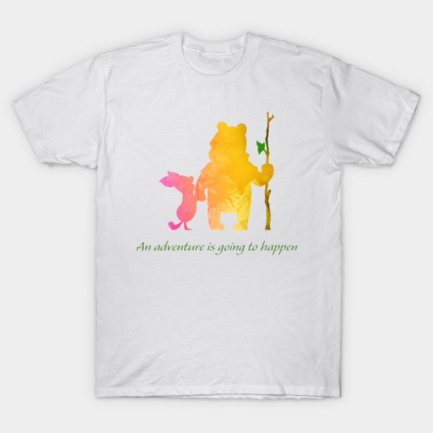 27bf1f0f4 Adventure Inspired Silhouette - Winnie The Pooh - T-Shirt