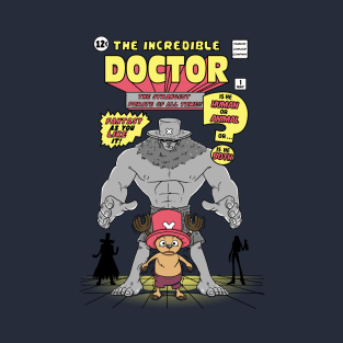 The Incredible Doctor t-shirts
