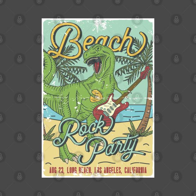 Beach Rock Party