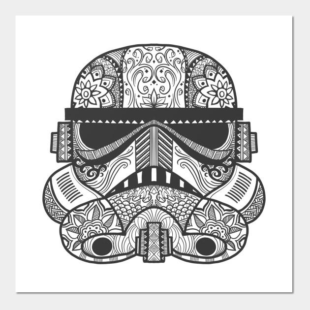 bea966ce Stormtrooper Sugar Skull - Star Wars - Posters and Art Prints ...