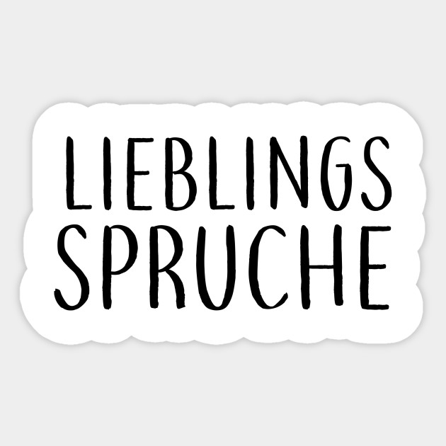 Lieblings Spruche 3 Levampir Sticker Teepublic