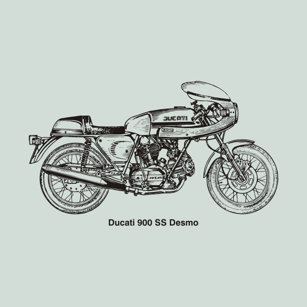 Limited Edition Exclusive Ducati 900 Ss Desmo Year 1980 Ducati