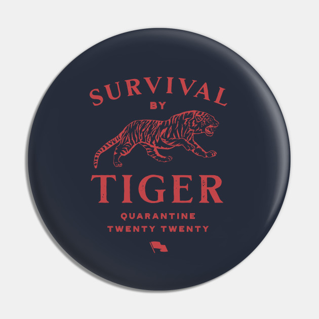 """""""Survival By Tiger"""" Tee"""