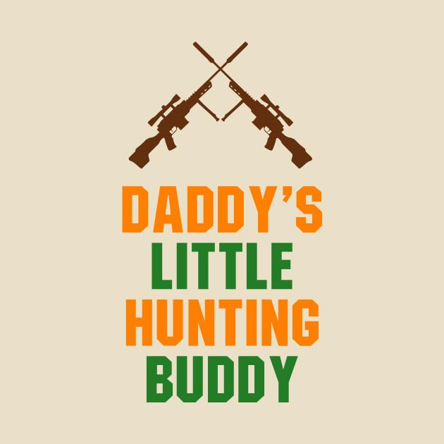 Baby Boy Bodysuits Daddy's Little Hunting Buddy
