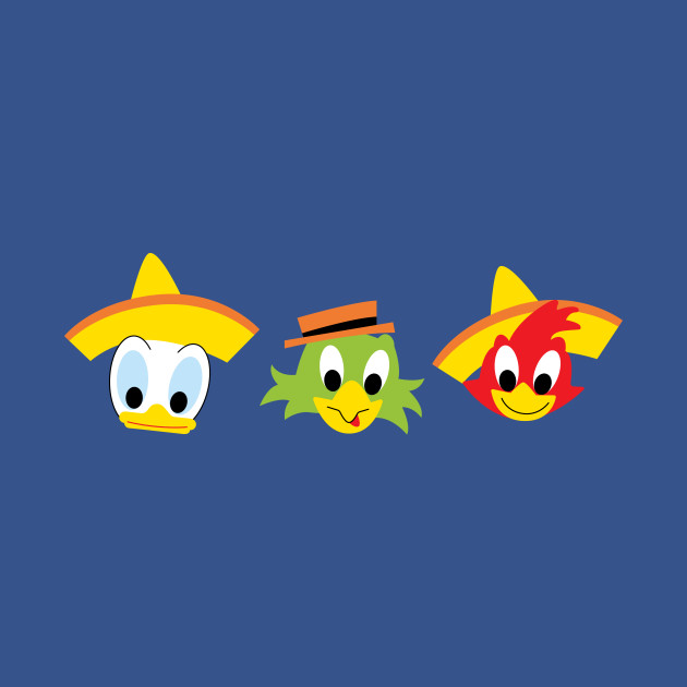 The Three Caballeros - Hortizontal