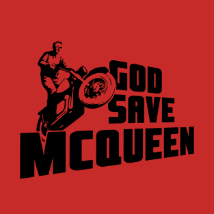 God Save McQueen t-shirts