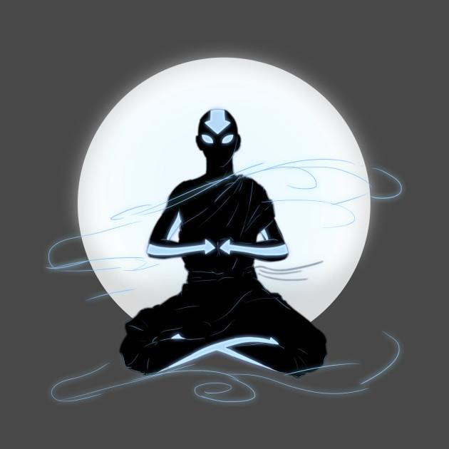 Avatar Aang: Aang AVATAR - Avatar The Last Airbender - Tapestry