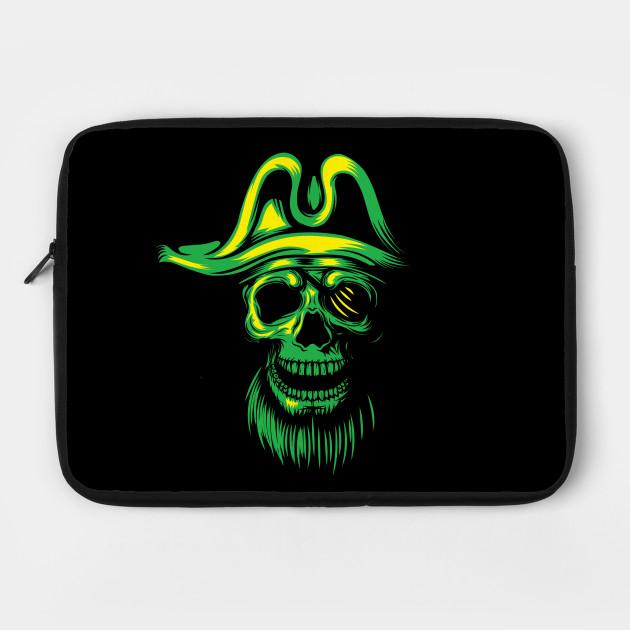 Green Skull Pirate