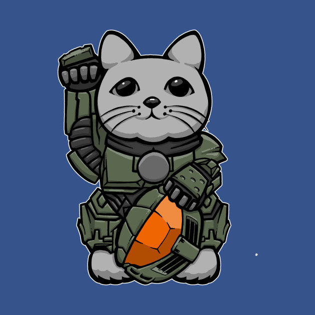 Halo Lucky Cat