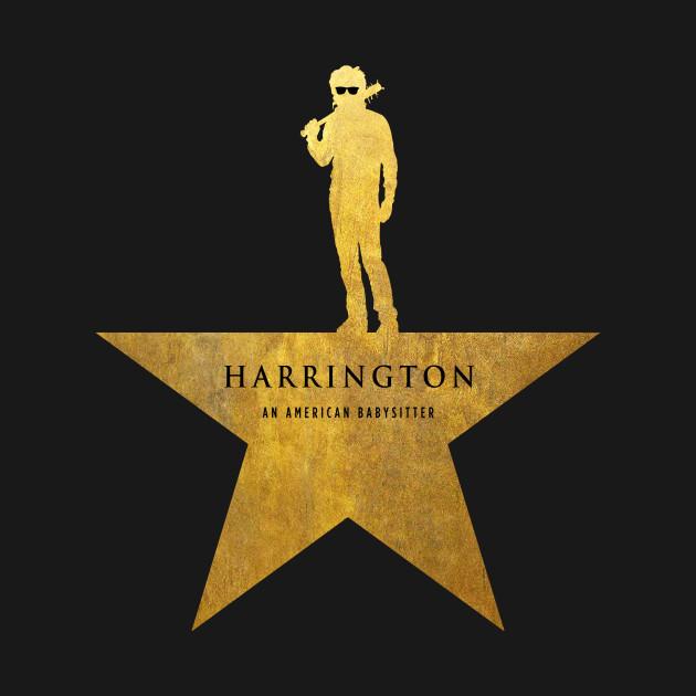 HARRINGTON: An American Babysitter (gold texture)