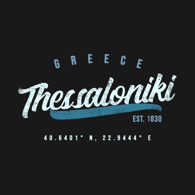 801a10a5f6b9 Thessaloniki Travel Greece Shirt Thessaloniki Travel Greece Shirt