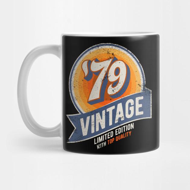 40th Anniversary Birthday Gift Born In 1979 Retro Graphic