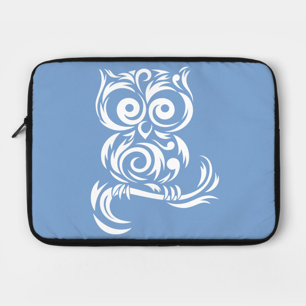 Little Owl Tribal # White