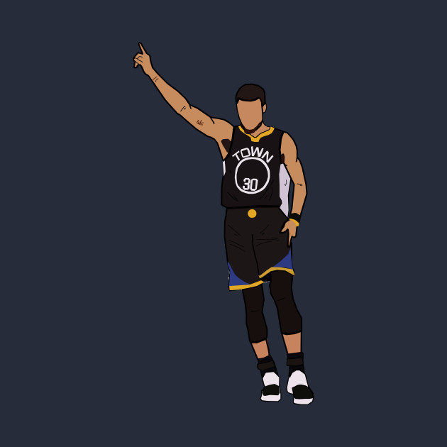 Steph Curry Celebration - Golden State Warriors