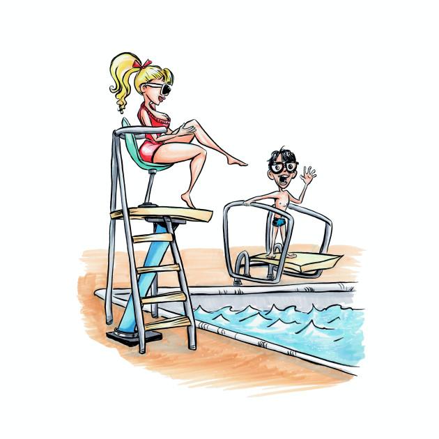 Squints and Lifeguard - Sandlot