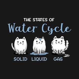 Cat love t shirts teepublic water cycle cat funny periodic table chemistry t shirt urtaz Gallery