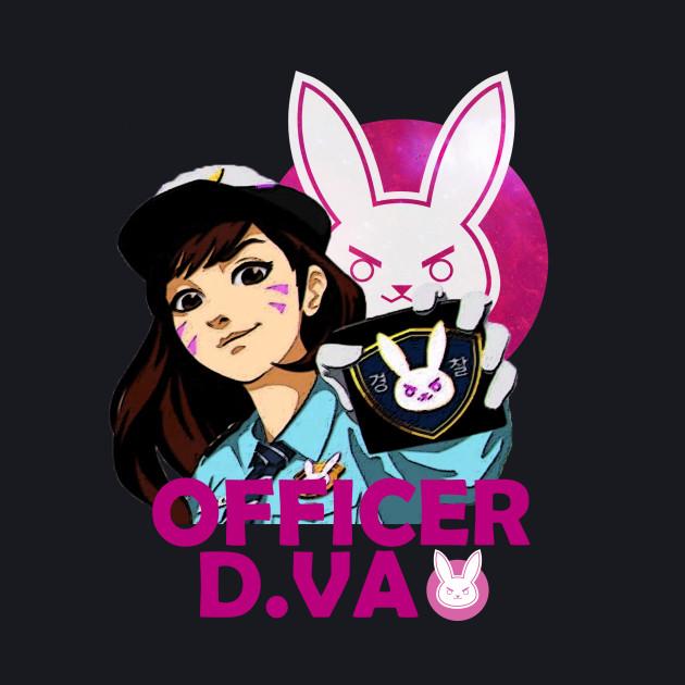 Officer D.VA - Overwatch