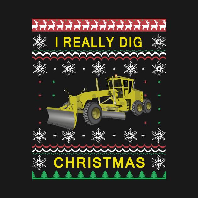 I Really Dig Christmas Big Rig Kids