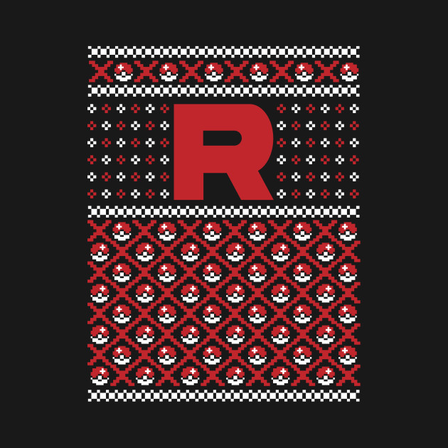 Team Rocket Ugly Christmas Sweater