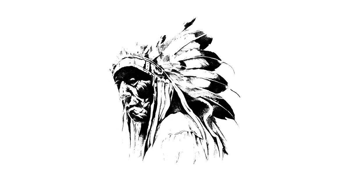 Line Art Feather : Apache feather stickers teepublic
