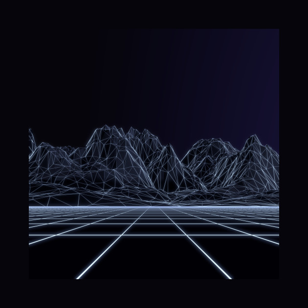 Wireframe Mountains
