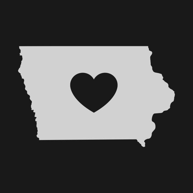 Iowa Love Heart