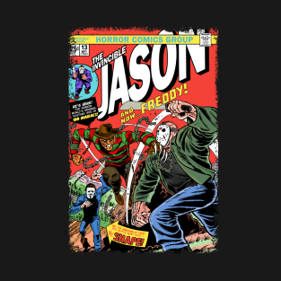 The Invincible Jason Vs Freddy t-shirts
