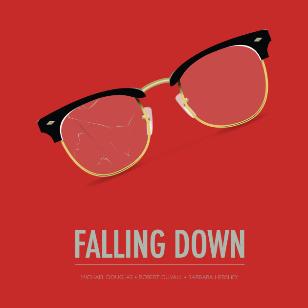 Falling Down - Alternative Movie Poster