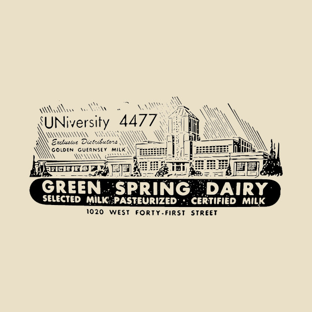 Green Spring Dairy Baltimore