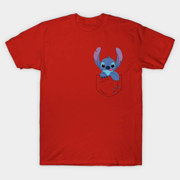Pocket Alien Lilo And Stitch T Shirt Teepublic