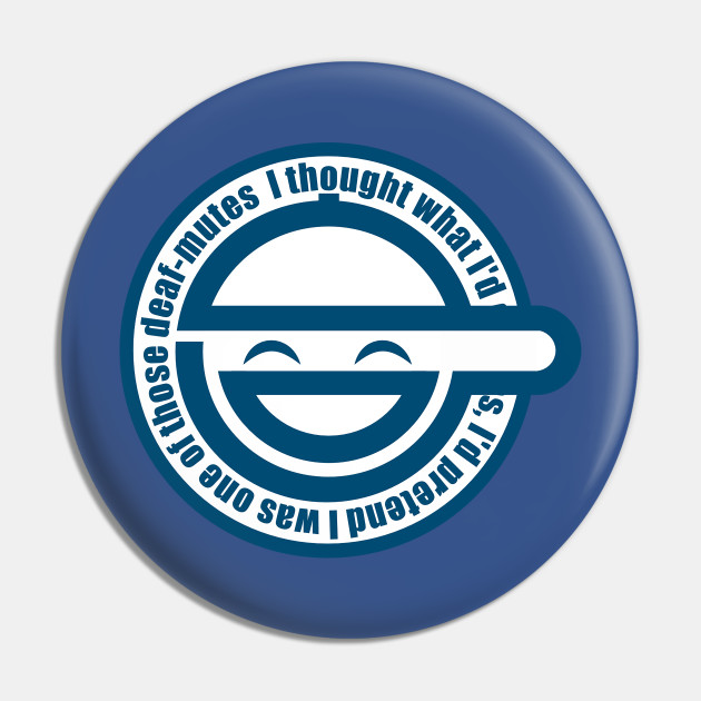 Laughing Man symbol from Ghost In The Shell Anime series