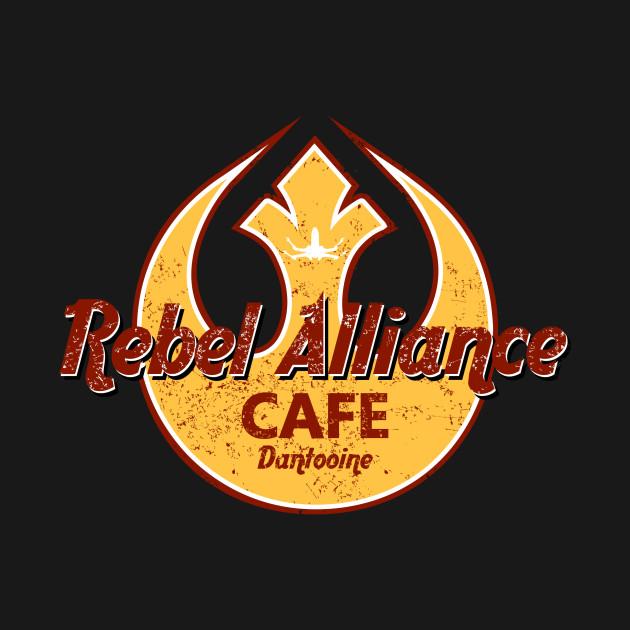 REBEL ALLIANCE CAFE DANTOOINE