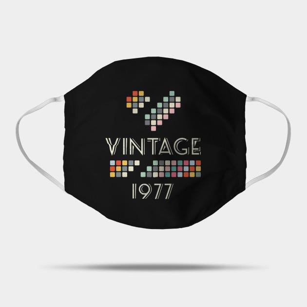 Vintage 1977  43 Years Old Birthday