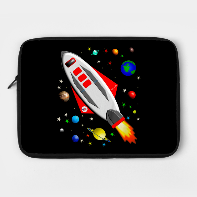 Kids Just Planets Spaceship in Space Solar System for Kids
