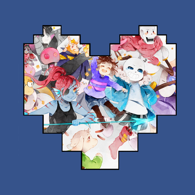 Undertale Pixel Heart