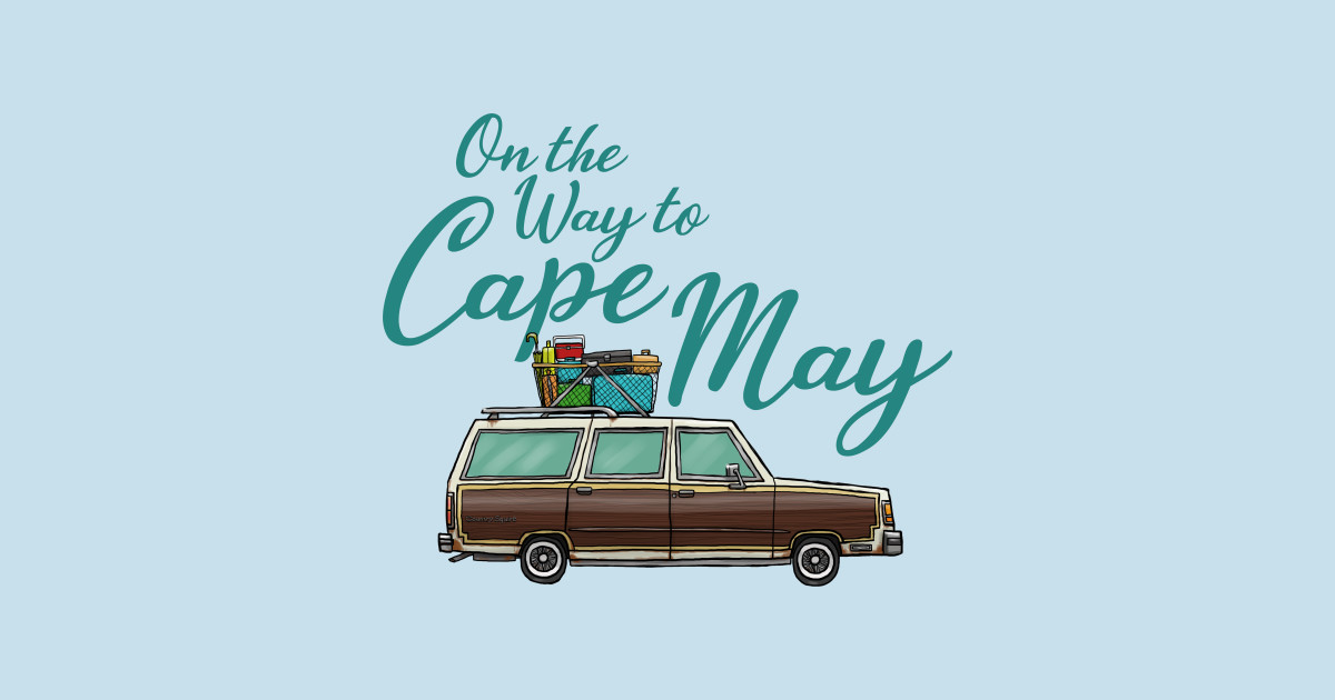 On The Way To Cape May Cape May T Shirt Teepublic