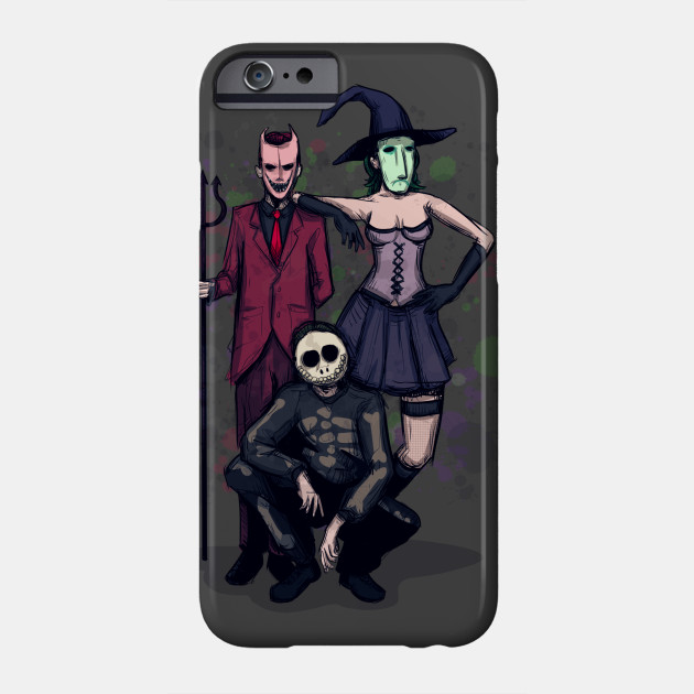 Halloween's Finest Trick-or-Treaters Phone Case