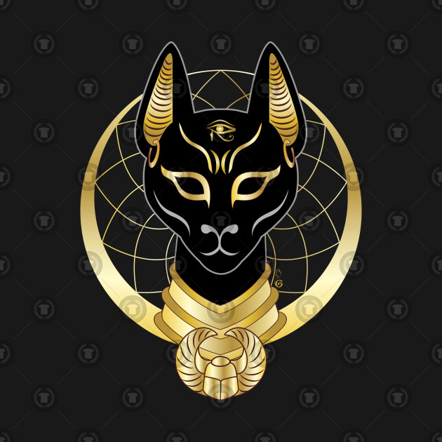 Bastet Bastet Cat Goddess Tank Top Teepublic