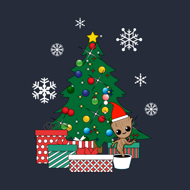 Baby Groot Christmas Tree Guardians Of The Galaxy