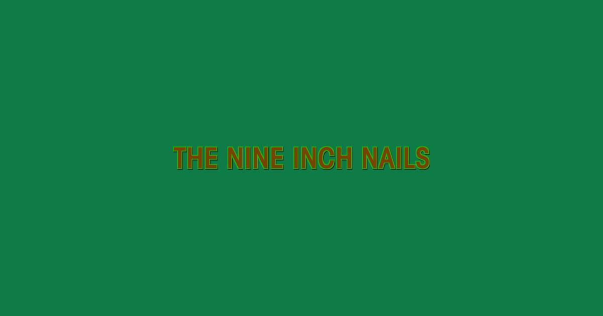 Nine Inch Nails T-Shirts | TeePublic