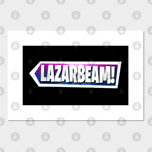 Lazarbeam Space Logo