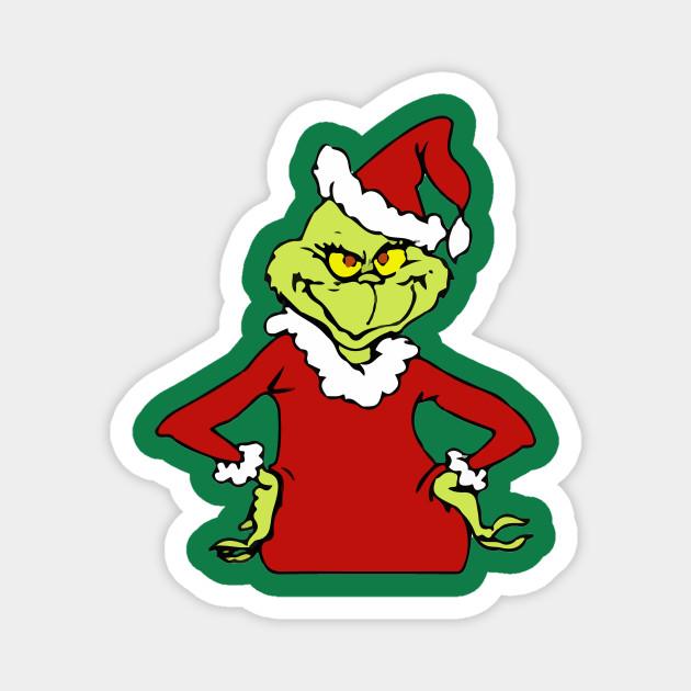 Grinchy Grinch - Grinchy - Magnet | TeePublic
