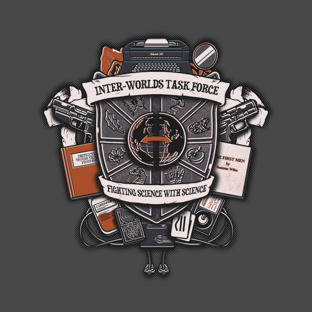 Inter-Worlds Task Force T-Shirt