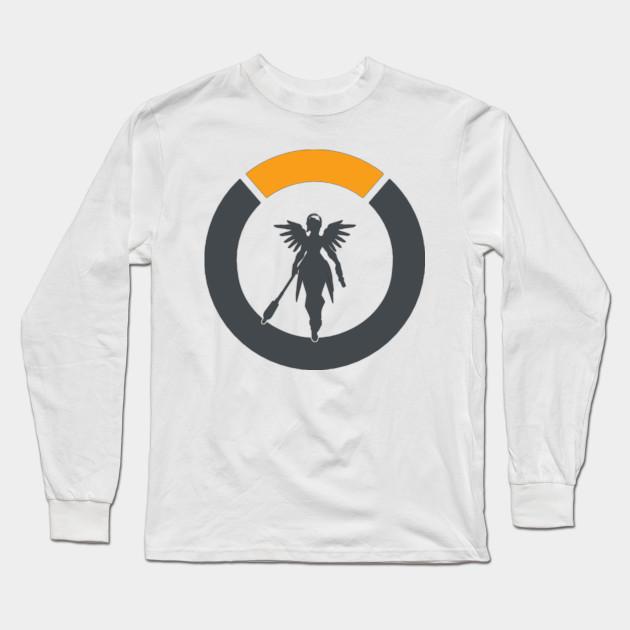 1e0330959 Overwatch Mercy Logo - Overwatch - Long Sleeve T-Shirt | TeePublic