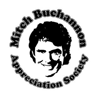 Baywatch Mitch Buchannon Appreciation Society t-shirts