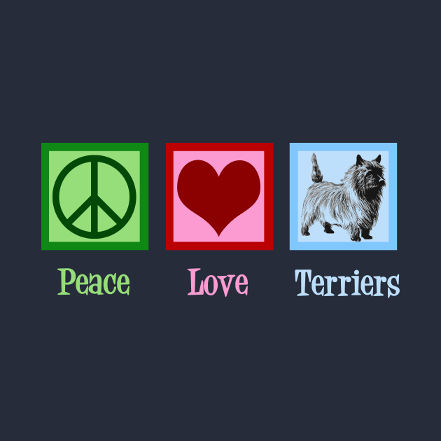 Peace Love Cairn Terriers